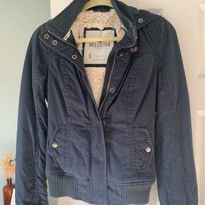 Hollister Fur-lined Winter Coat